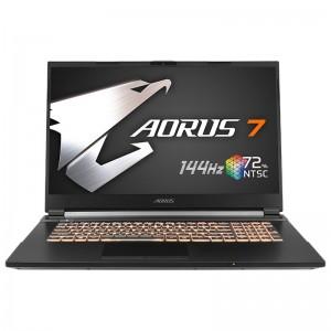 "Gigabyte AORUS 7 17.3"" 144Hz Gaming Laptop i7-10750H 16GB 512GB GTX 1660Ti Win10H"