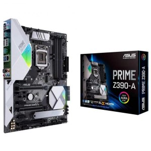 Asus Prime Z390-A Intel LGA 1151 ATX Motherboard x4 DDR4 RGB USB 3.1 USB Type-C
