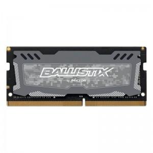 Crucial Ballistix Sport LT 4GB (1x4GB) DDR4 2666MHz C16 SODIMM Gaming Memory Grey BLS4G4S26BFSD