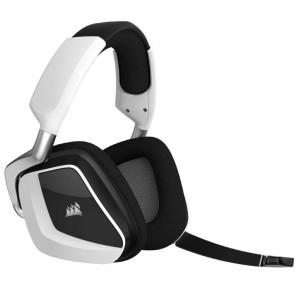 Corsair Void Pro RGB LED 7.1 Wireless Gaming Headset Headphones Mic PC Mac White CA-9011153-AP