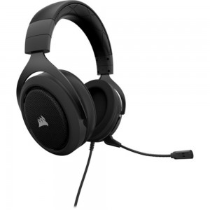 Corsair HS60 7.1 Gaming Headset Headphones with Mic PC Mac PS4 Xbox One Black CA-9011173-AP