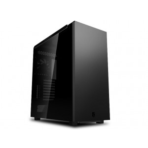 Deepcool MACUBE 550 Minimalist Full Tower Case, Tempered Glass Side Panel, Black