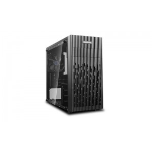 Deepcool MATREXX 30 Full Tempered Glass Side Panel M-ATX Case, 1x 120mm Black Fan, Graphics Card Up To 250mm