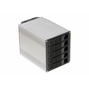 TGC Chassis Accessory SATA Hot Swap Drive Way 3x 5.25' Drive Bay to 5x 3.5' Hot Swap Bays.