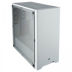 Corsair Carbide 275R Windowed Mid-Tower ATX Case White CC-9011131-WW