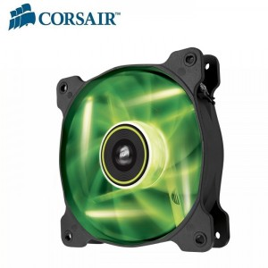 Corsair SP 140mm Fan Green LED High Static Pressure 3 PIN (LS)