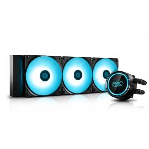 Deepcool GAMMAXX L360 V2 RGB LED Liquid Cooler PWM Control, Super Silent Intel 165W LGA20XX/1366/1200/115X AMD 250W AM4 AM3+ AM3 AM2+ AM2 FM2+ FM2 FM1