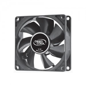 Deepcool 80mm Hydro Bearing Case Fan Molex 20dB 1800rpm 82g