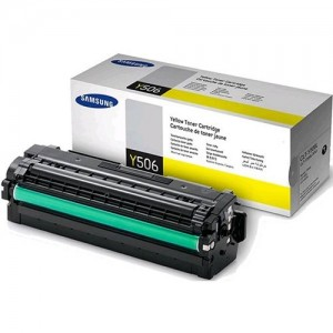Samsung CLT-Y506L Yellow High Yield Toner for CLP-680 CLX-6260