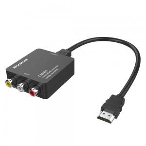 Simplecom CM401 Composite AV CVBS 3RCA to HDMI Video Converter 1080p Upscaling CM401