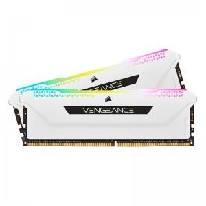 Corsair Vengeance RGB PRO SL 32GB (2x16GB) DDR4 3600Mhz C18 White Heatspreader Desktop Gaming Memory CMH32GX4M2D3600C18W