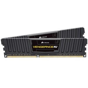 Corsair Vengeance LP Black 16GB ( 2x8GB) 1600MHz C9 DDR3 RAM CML16GX3M2C1600C9