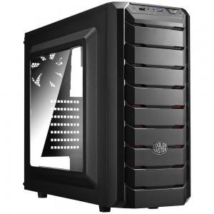 Cooler Master CMP 500 Mid Tower Window Case w 600W PSU USB3.0 Black CMP-500-1NWRA60-AU