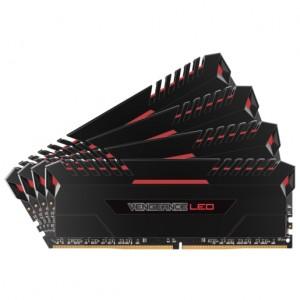 Corsair 32GB (4x8GB) Vengeance LED DDR4 3466MHz Desktop RAM CMU32GX4M4C3466C16R