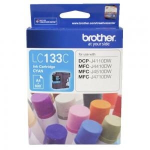 Brother LC-133C Cyan Ink-600p-MFC-J6520DW/J6720DW/J6920DW and DCP-J4110DW/MFC-J4410DW/J4510DW etc.