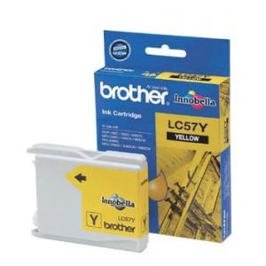 Brother LC-57Y Yellow Ink- FAX-2480C, DCP-130C/330C/540CN/350C, MFC-240C/440CN/3360C/5460CN/5860CN/665CW/465CN/685CW/885CW- up to 400 p