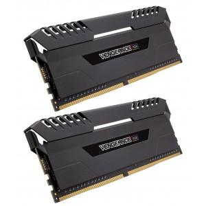 CORSAIR Vengeance RGB 32GB (4x8GB) DDR4 DIMM 3200MHz Unbuffered Memory 1.35V XMP 2.0 CMR32GX4M4C3200C16