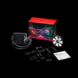 ASUS ROG Strix LC 120 RGB All-in-one Liquid CPU Cooler,Aura Sync, Single ROG 120mm Addressable RGB Radiator Fan