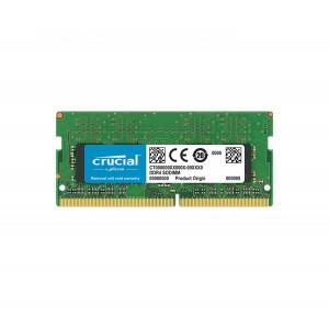 Crucial 8GB (1x8GB) DDR4 2400MHz SODIMM CL17 Single Ranked CT8G4SFS824A