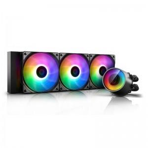 Deepcool CASTLE 360 RGB V2 Intel LGA2066/2011-v3/2011/1151/1150/1155/1200/1366 AMD TRX4 TR4 AM4 AM3+ AM3 AM2+ AM2 FM2+ FM2 FM1