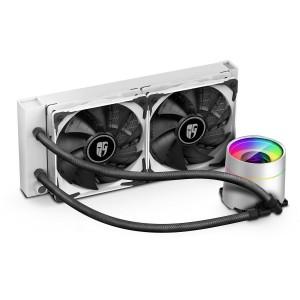 Deepcool GamerStorm Castle 240EX White CPU Liquid Cooler Intel LGA20XX/1151/1150/1155/LGA1366 AMD TRX4/TR4/AM4/AM3+/AM3/AM2+/AM2/FM2+/FM2/FM1