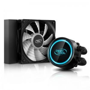 Deepcool GAMMAXX L120 V2 RGB LED Liquid Cooler Intel LGA20XX/1366/115X/1200 AMD AM4 AM3+ AM3 AM2+ AM2 FM2+ FM2 FM1