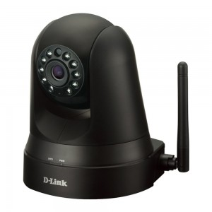 D-Link DCS-5010L mydlink Home Monitor 360 Pan/Tilt Indoor Camera Night Vision