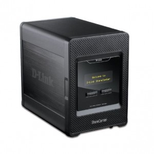 D-Link DNS-345 ShareCenter 4-Bay Network Storage Enclosure NAS