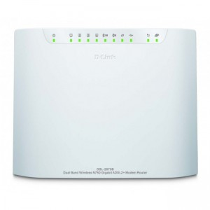D-Link DSL-2870B Wireless N750 Gigabit ADSL2+ Modem Router Dual Band Wi-Fi
