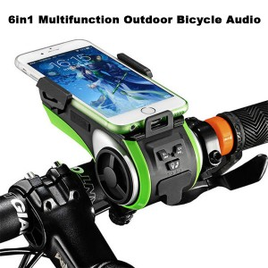 6in1 Multifunction Outdoor Bicycle Audio