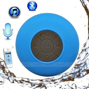 Mini Waterproof Wireless Bluetooth Speaker (Blue)