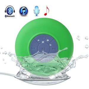 Mini Waterproof Wireless Bluetooth Speaker (Green)