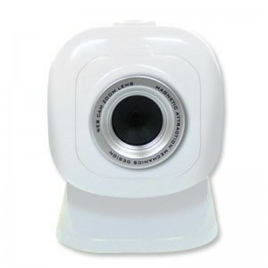 Laser Smart  Web Cam 5.0MP with Magnetic Base White