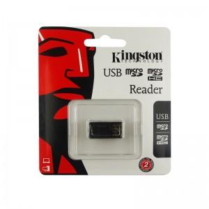 Kingston G2 Micro SDHC USB 2.0 KeyChain Card Reader FCR-MRG2