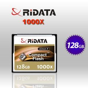 RiDATA 128GB 1000X Lightning Series UDMA CF CompactFlash Card (RDCF128G-1000X-LIG)