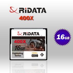 RiDATA 16GB 400X Lightning Series UDMA CF CompactFlash Card (RDCF16G-400X-LIG)