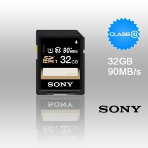 SONY SF-32UY3 32GB UHS-I SDHC CLASS 10 upto 90MB/S