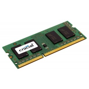 Crucial 8GB DDR3 1600MHz PC3-12800 CL11 204pin SODIMM Laptop Memory RAM 1.35V - CT102464BF160B