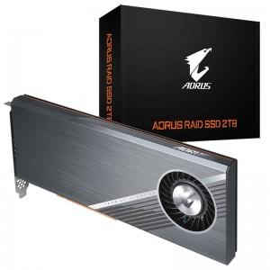 Gigabyte AORUS RAID AIC NVMe PCIe x4 Gen4 SSD 2TB (4x 512GB) 6300/6000MB/s
