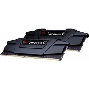G.Skill Ripjaws V Black 16GB (2x8GB) Dual Channel RAM KIT DDR4 3200MHz C16 Gaming Desktop Memory PC4-25600 1.35V F4-3200C16D-16GVKB