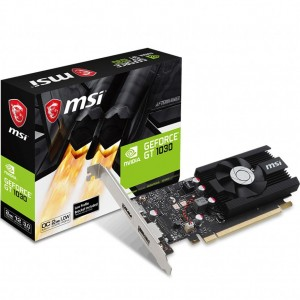MSI nVidia GeForce GT 1030 2G LP OC Low Profile 2GB Gaming Graphics Video Card