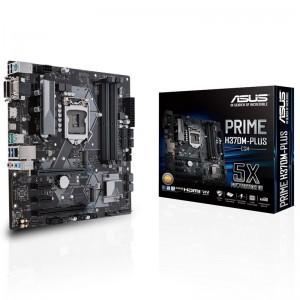 ASUS PRIME H370M-PLUS/CSM LGA 1151 Micro-ATX Motherboard