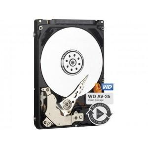 Western Digital WD AV-25 500GB 2.5' HDD SATA 5400RPM 16MB Cache 24x74 -40 to 70 1M Hrs MTBF 3yrs Wty for DVR Set-Top Box Surveillance