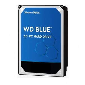 """Western Digital WD WD10EZEX 1TB Blue 3.5"""" 7200RPM SATA3 Hard Drive"""