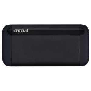Crucial X8 500GB External Portable SSD ~1050MB/s USB3.2 USB-C USB3.0 USB-A Durable Rugged Shock Proof PC MAC PS4 Xbox Android iPad Pro ~HXS-PT5-500GB