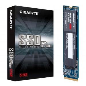 Gigabyte M.2 PCIe NVMe SSD 512GB V2 1700/1550 MB/s 270K/340K IOPS 2280 80mm 1.5M hrs MTBF HMB TRIM SMART Solid State Drive 5yrs ~GP-GSM2NE8512GNTD