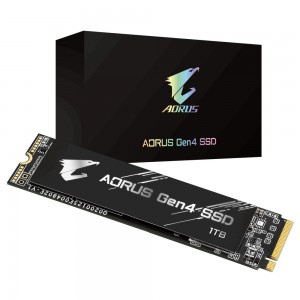 Gigabyte M.2 AORUS Gen4 SSD 1TB 5000/4400 MB/s PCI-Express 4.0 x4, NVMe 1.3 GP-AG41TB