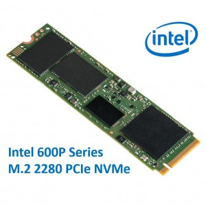 Intel 600P Series M.2 2280 256GB SSD PCIe NVMe 1570/540MB/s 71K/112K IOPS 1.6 Million Hours MTBF Solid State Drive 5yrs Wty