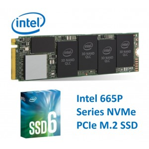 Intel 665P NVMe PCIe M.2 SSD 1TB 3D2 QLC 2000/1925MB/s R/W 160K/250K IOPS 1.6 Million Hours MTBF 5yrs Wty ~HBI-660P-1TB SSDPEKNW010T8X1