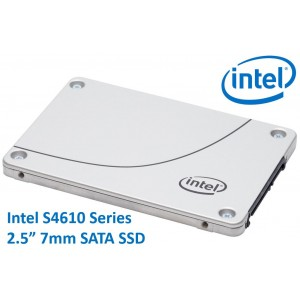 Intel DC S4610 2.5' 1.92TB SSD SATA3 6Gbps 3D2 TCL 7mm 560R/510W MB/s 97K/47K IOPS 3xDWPD 2 Mil Hrs MTBF Data Center Server 5yrs Wty ~HBI-S4510-1.92TB